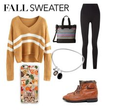 """""""Fall sweater contest"""" by emilysmith240402 ❤ liked on Polyvore featuring TOMS, Balmain and Casetify"""