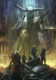 Titan by Alejandro Olmedo | Fantasy | 2D | CGSociety