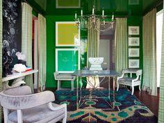 Home decor trends 2013- emerald-green
