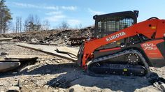 Order for high powered Kubota SVL 75 that surpasses the competition and can accomplish many tasks comfortably.