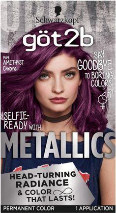 Metallic Hair Color, Bold Hair Color, Hair Dye Colors, Brown Hair Colors, Dramatic Hair Colors, Funky Hair Colors, Hair Loss Cure, Stop Hair Loss, Home Remedies For Hair