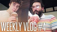 WEEKLY VLOG #4 (OUTUBRO) | TATTOO NA MÃO, CAFÉ COM CELLBITS E INTERNET O...