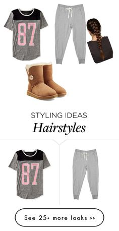 Lazy Day by pinkberryt on Polyvore featuring Mode, Aéropostale und UGG Australia