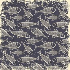 Fish pattern - repeat