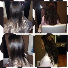 Fusion hair extensions by Serena. Leon james branford ct