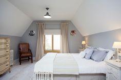 Splashy laura ashley bedding in Bedroom Farmhouse with Gray Wall Ideas next to…