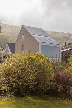 Elsass im Kupfertitanzinkspiegel - Einfamilienhaus von Berrel Berrel Kräutler