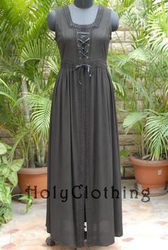 Claudia Lace-up Renaissance Overdress - Dresseshttp://holyclothing.com/index.php/dresses.html?utm_source=FB_Ads&utm_medium=-_Ads&utm_campaign=FB_Entry_Ads