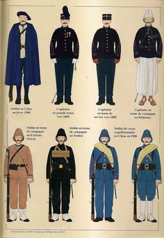 British Army Uniform, Men In Uniform, Navy Uniforms, Military Uniforms, Old Warrior, Soldier Costume, Military Drawings, French Foreign Legion, Italian Army
