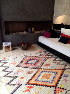 Reserved for Jogambale  Vintage Moroccan rug  by BazaarLiving
