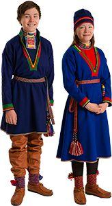 Julevsápmi - Lule Saami clothing and hats