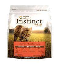 Nature's Variety Instinct Grain Free Salmon Dry Cat Food