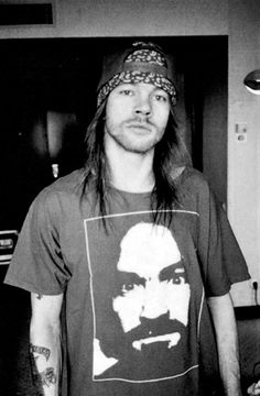 Axl Rose (February 6, 1962) American singer (known from the band Guns N' Roses).
