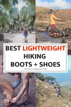 Walking boots for travel Hiking Boots Women Cute, Winter Hiking Boots, Best Hiking Boots, Hiking Gear, Hiking Shoes, Hiking Outfits, Best Lightweight Hiking Boots, Hiking Fashion, Waterproof Hiking Boots
