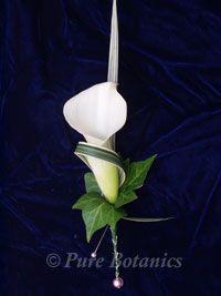 Calla buttonhole