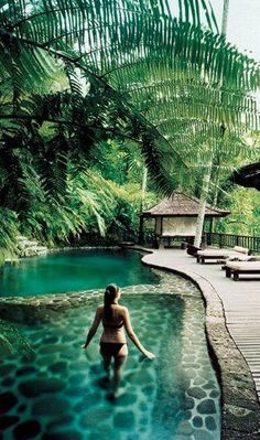 Take your bikini wherever your summer adventures take you!  Ubud, Bali, Indonesia
