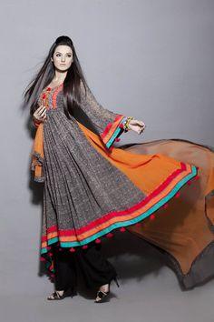 Kashish Boutique Formal Pakistani Wear 2012