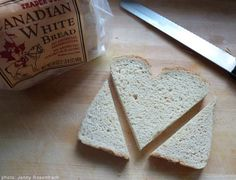Heart Shaped Toast by  Jen Genova and Jennifer Gimbel