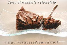 Torta mandorle cioccolato