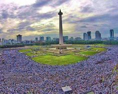 We united becomes one. Allahu Akbar #proudbeingmoslem