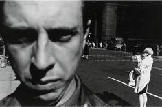 Lee Friedlander, Self Portrait. Love this early selfie from Friedlander.even if I do find some of his work disturbing. Lee Friedlander, Street Photography, Portrait Photography, White Photography, Stunning Photography, Photography Logos, Garry Winogrand, The Dark Side, Eugene Atget