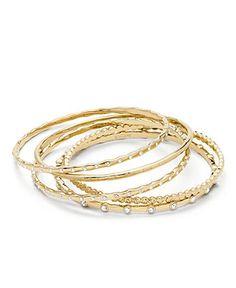 COACH PAVE BRACELET SET - Coach Jewelry - Handbags & Accessories - Macy's