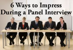Panel Interview Coming Up? Here's How to Impress a Team of Interviewers