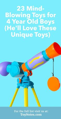 be1ed640d9af0 23 Mind-Blowing Toys for 4 Year Old Boys - He ll Love These Unique Toys