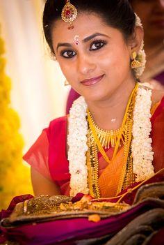 Beautiful South Indian Bridal Makeup #SouthIndian #BridalMakeup