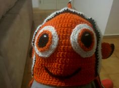 Nemo crochet hat