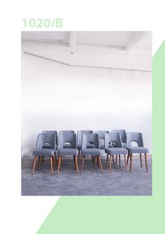 Muszelki. Redesigned by Lekka Furniture. Chair. Krzesło PRL. Designed in 70's.
