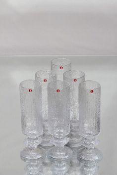 Iittala Senaattori kuohuviinilasit, kirkas, 6 kpl Mason Jars, Glass, Mason Jar, Jars