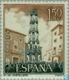 Stamps - Spain [ESP] - Tourism 1967