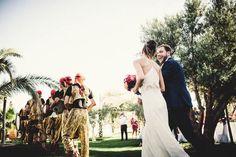Vibrant Moroccan Destination Wedding   Photo by Marshal Gray Photography