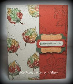 Cards and More by Sheri: Countdown to World Card Making Day - Day 7