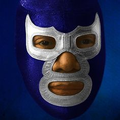 Mexican Skull Tattoos, Mexican Skulls, Classic Cartoon Characters, Classic Cartoons, Blue Demon, Luchador Mask, Mexican Wrestler, Wrestling Posters, Mexican Mask