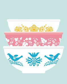 Images gallery of PYREX CLIPART. Image and navigation by next or previous images. Pyrex Vintage, Vintage Dishware, Vintage Dishes, Vintage Kitchen, 1950s Kitchen, Vintage Recipes, Plywood Furniture, Design Furniture, Design Lounge