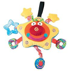 Whoozit Starz, Lightz and Soundz activity toy This multi-sensory toy winks and sparkles with lights as it plays lsquo