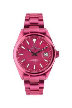 Women's Aluminum Pink Watch by Toy Watch on @HauteLook
