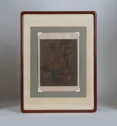 Antique Chinese Scroll Painting / Attribution to Chao Ch'ien-li / Song Dynasty #Asian . SOLD.