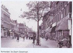 Zwart Janstraat in het verlengde van de Noordmolenstraat.