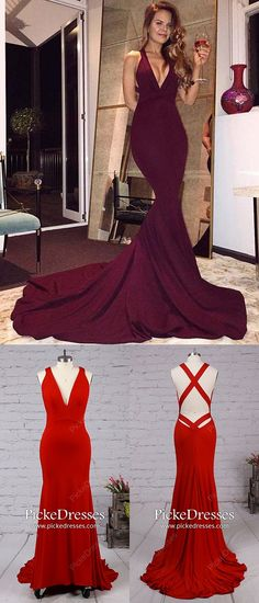 Mermaid Prom Dresses Burgundy, Long Evening Dresses For Teens, Jersey Military Ball Dresses V-neck, Unique Pageant Dresses with Ruffles Year 10 Formal Dresses, Unique Homecoming Dresses, Pageant Dresses For Teens, Sparkly Prom Dresses, Simple Prom Dress, Evening Dresses For Weddings, Prom Dresses Online, Mermaid Prom Dresses, Formal Evening Dresses