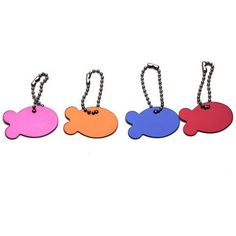 Personalized Designers Fish Shaped Pet Cat Tag