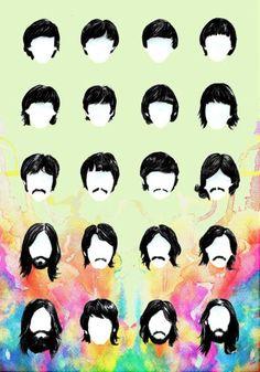 Beatles, a evolução.