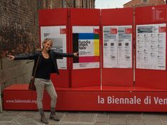 Andrea visting Fundamentals...directed by Rem Koolhaas and organized by la Biennale di Venezia!
