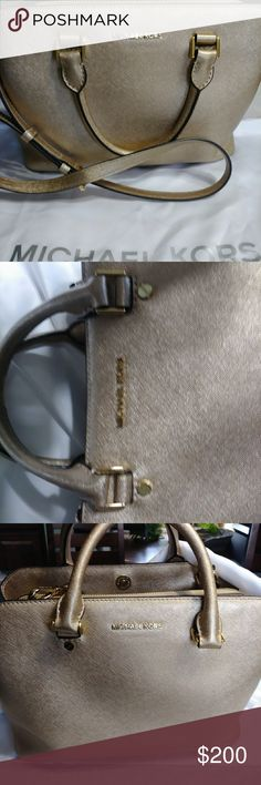"Michael Kors Satchel Satchel with 3 compartments. Gently used. 11""wide 8""tall Michael Kors Bags Satchels"