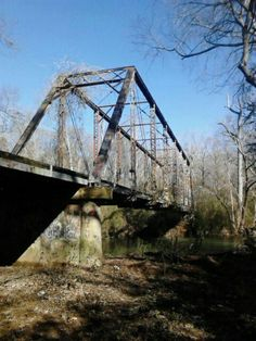 Ghost Bridge, Florence, AL... Wow, I have not thought about this in forever.