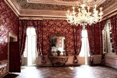 The Throne Room in Venice Royal Palace