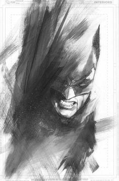 Les illustrations de super-héros de Ben Oliver