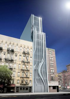 L.E.S. Residential Building in New York by Gage / Clemenceau Architects